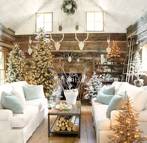 This was my FAVORITE page out of my new Ballard Designs catalog-Christmas at Ballard Designs -Farmhouse Porch