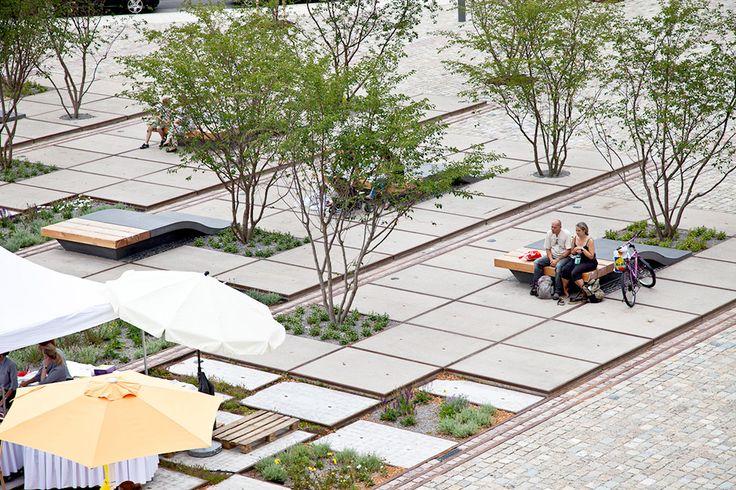 Zollhallen plaza atelier dreiseitl 01 b doherty 106 for Terraplan landscape architects