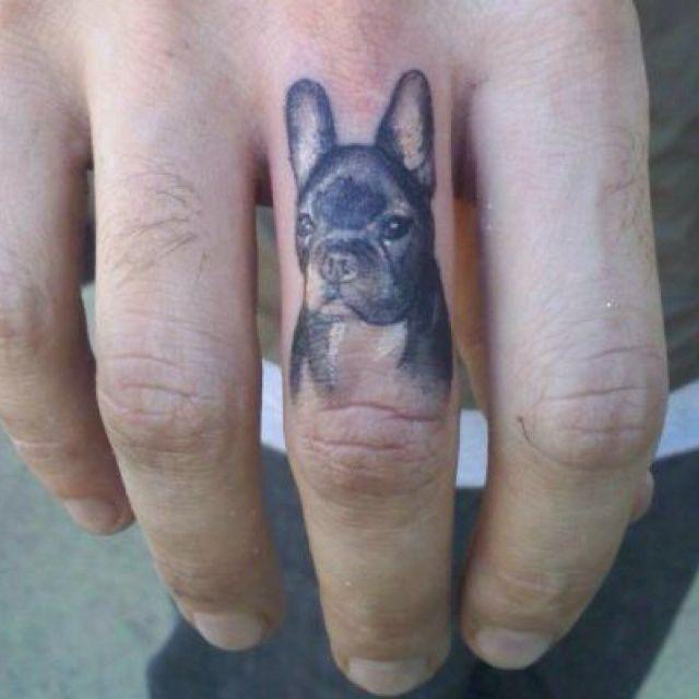 84 best tatua e z psami dog tatoos images on pinterest for Animal finger tattoos