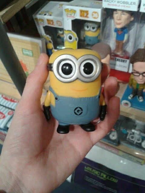 How cute is this? Mini minion!