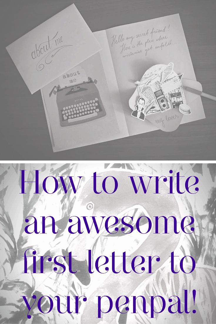 22 best snail mail images on pinterest postcards letters and awesome penpal letter negle Image collections