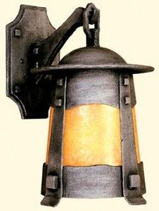 Lamps & Lighting, Inside and Out ~ Browse a selective list of aritsts & manufacturers for Arts & Crafts-inspired lamps & lighting, for both interior & exterior use. ~