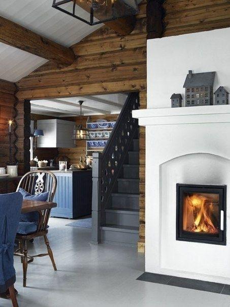 Деревянный дом в Норвегии - Дизайн интерьеров | Идеи вашего дома | Lodgers