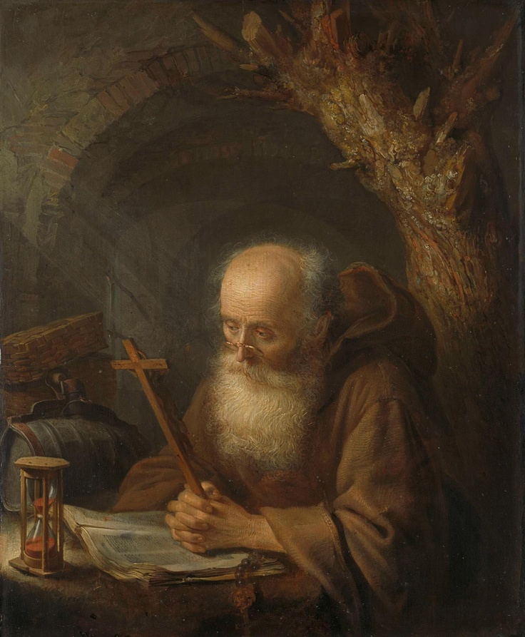 Only 6 more nights... until this hermit can delight in the interest of tens of thousands of visitors. This painting is by Gerard Dou, who studied under Rembrandt, whose 400th birthday we're celebrating today.