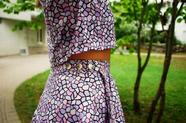 AWESOME THINGS CLOTHING - Summer 2015 Tiffany skirt with adjustable waist