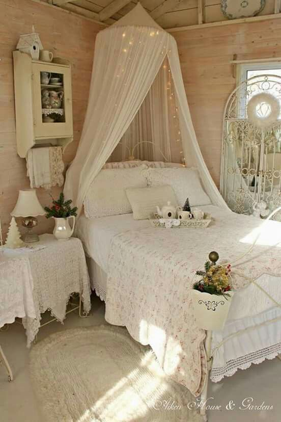 1612 Best Images About Bedrooms For Romantic Cottage Decor On Pinterest Shabby Bedroom Guest Rooms And Romantic Shabby Chic