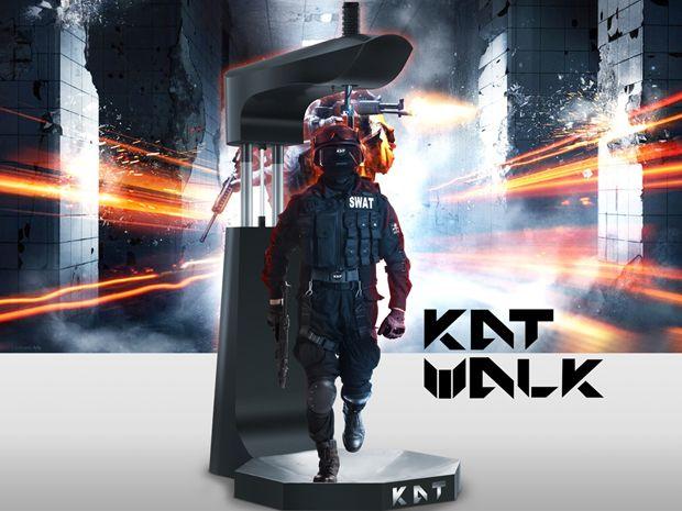 仮想空間を歩ける全方位VRトレッドミル KAT WALK 商品化決定。ハーネスでジャンプや屈みも対応 - Engadget Japanese