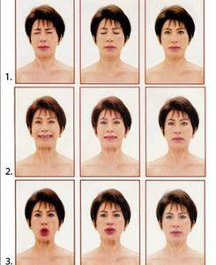 Ginástica facial - Divulgação