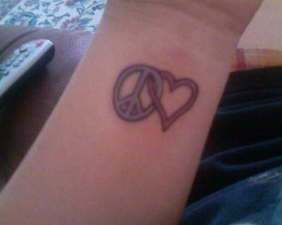 peace and inked