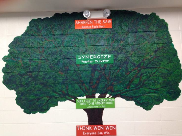 25 best ideas about 7 habits tree on pinterest for 7 habits tree mural