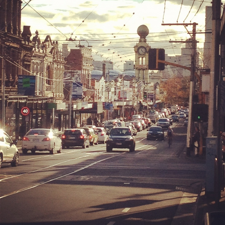 Swan Street, Richmond, Melbourne, Australia