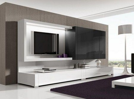 Muebles de tv modernos buscar con google les for Muebles modernos para living