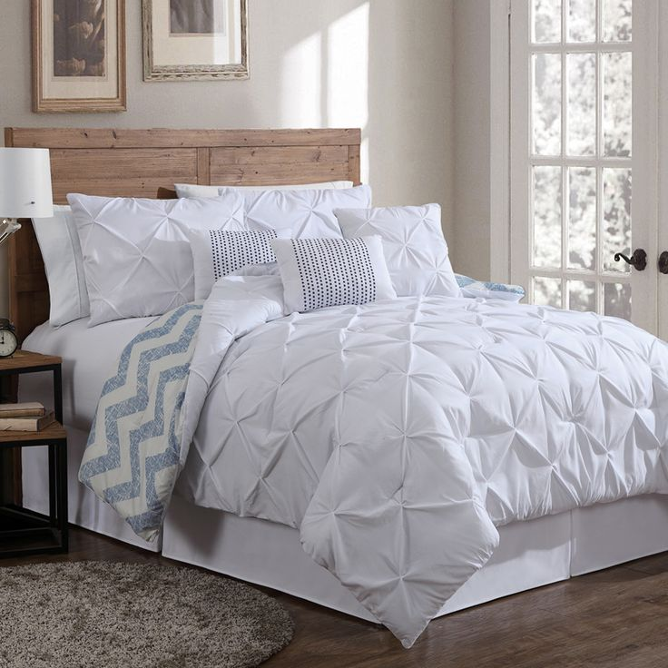 Best 20 king size comforter sets ideas on pinterest for King shams on queen bed