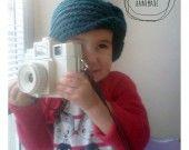 Cappello cloche anni '20 - crochet : Cappelli, berretti di lanahandmade