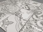 Yurtbay Seramik Nicea Sephia Mix 10x10cm TCW20 Decortegel met 14 verschillende motieven Genuanceerde sephia tinten / zijdemat met verouderde print Per mix verpakt in een doos a 0.5m2 (= 50 tegels) Ook geschikt als vloertegel Zellige, Marokkaanse tegels, Portugese tegels, Moorse tegels