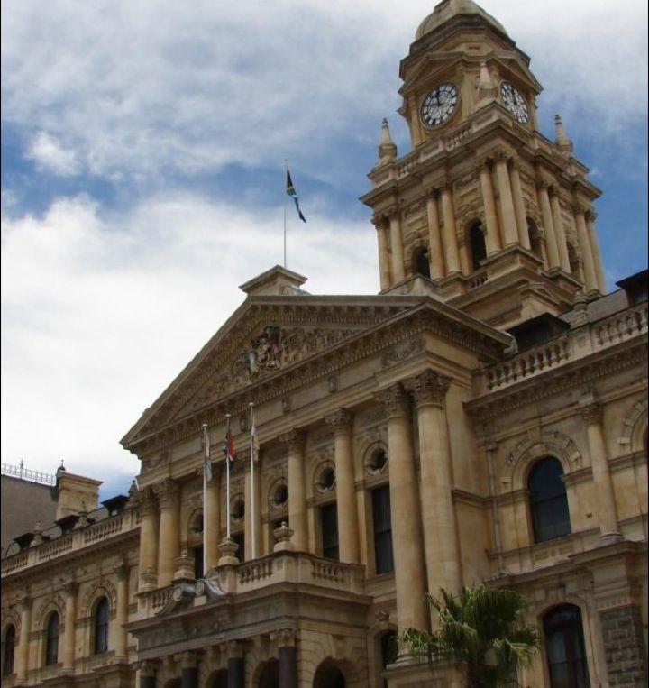 City Hall in iKapa, Western Cape