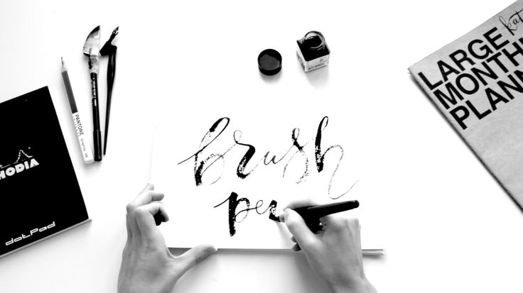 """Check out my @Behance project: """"Brush calligraphy 