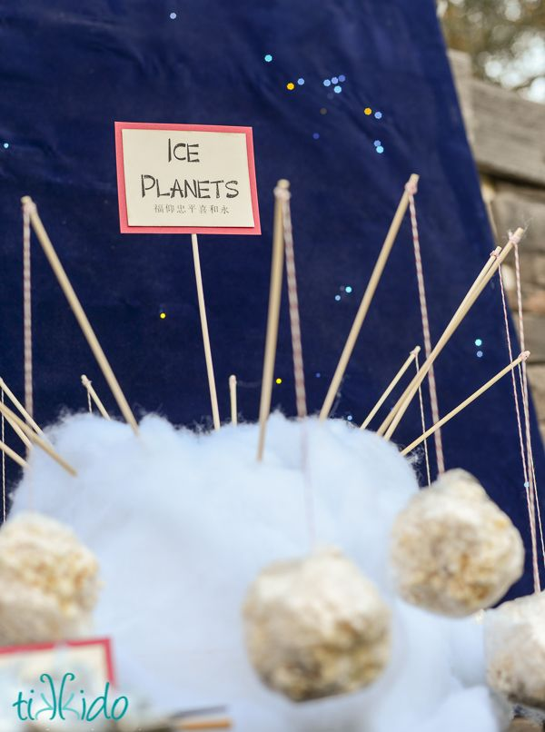 """Firefly (Space Cowboy) and Serenity 10th Birthday Party   TikkiDo.com. Ice planets. """"My food is problematic"""""""