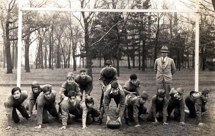 "A Vintage Photo called ""Endzone"" Racine College Football"