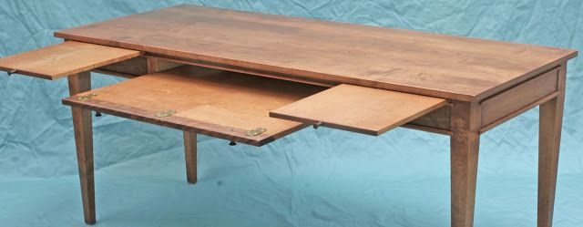 Inventia Design 358 Solid Wood Computer Desk With Flip