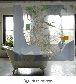 Nyc Subway Map Shower Curtain I Am Obsessed With The Nyc