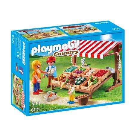 Piątek, pięteczek, piątunio - Uwielbiamy:)  Otwórz swoje zadaszone stoisko z dużą ilością świeżych wyhodowanych przez siebie warzyw w 8 przenośnych skrzyniach z zestawem  Playmobil 6121 serii Playmobil Country.  Sprzedać możesz: kapustę, marchew, pietruszkę, kalafior, paprykę, pomidory, czosnek i inne warzywa.  Nie przejedzcie się:) Miłego Weekendu:)   http://www.niczchin.pl/playmobil-country/4128-playmobil-6121-stoisko-z-warzywami.html  #playmobil #warzywa #country #zabawki #niczchin…
