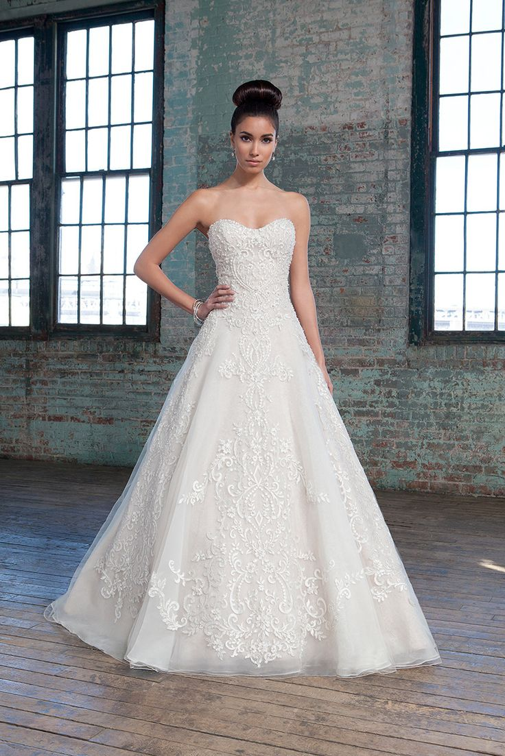 Awesome Glamorous Wedding Dresses By Justin Alexander