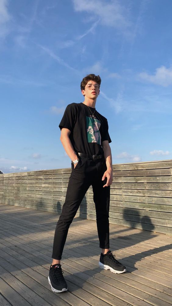 6e82e4a31 look masculino tumblr all black para réveillon 2019