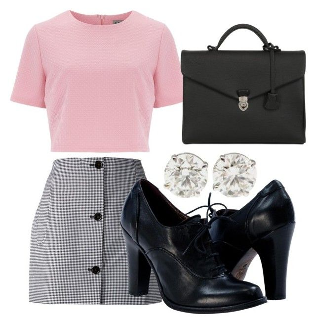 """""""Jodie Landon"""" by aliyawill ❤ liked on Polyvore featuring Carven, Alice & You, OHBA, school, daria, Costume, Semicasual and student"""