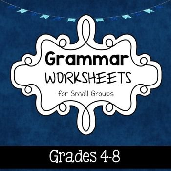 This grammar packet is perfect for the upper elementary/ middle school crowd (grades 4-8)! Target a variety of grammar and syntax goals with this low ink packet. Worksheets are designed to be used in small groups, but feel free to modify the instructions and use with individual students as well.Included: (8) Grammar Games Worksheets: targets sentence correction, forming grammatically correct sentences, and unscrambling words to form sentences.