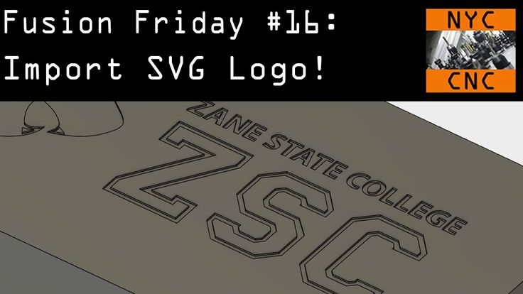 Import SVG Logo, Scale & Move in Fusion 360! Fusion Friday #16