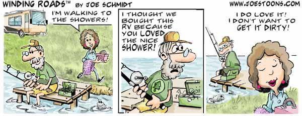 Great comic strips at www.joestoons.com   RV Humor ...