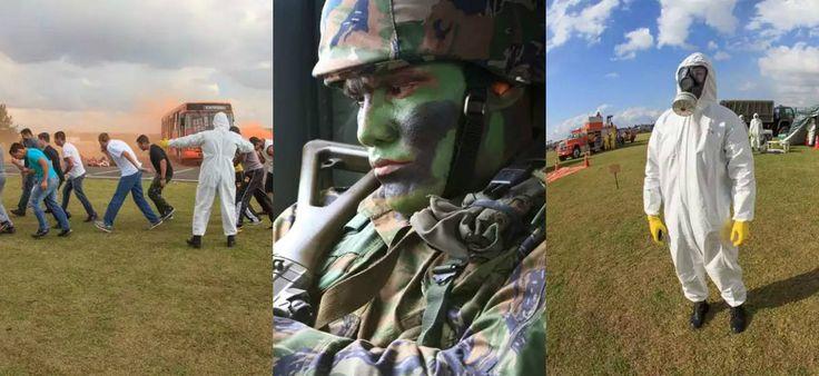 """Força Aérea Brasileira anuncia preparação para """"Apocalipse Zumbi"""" - Fotos - R7 Brasil"""