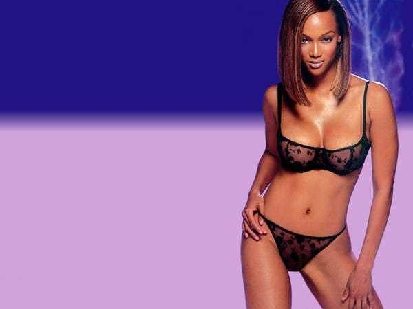 Tyra Banks Isn't Too Thrilled ... is listed (or ranked) 4 on the list The 41 Hottest Tyra Banks Photos of All Time