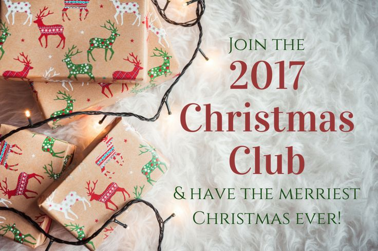 I started preparing for Christmas this way, and BOY did it make a difference! So excited to join the 2017 Christmas Club!