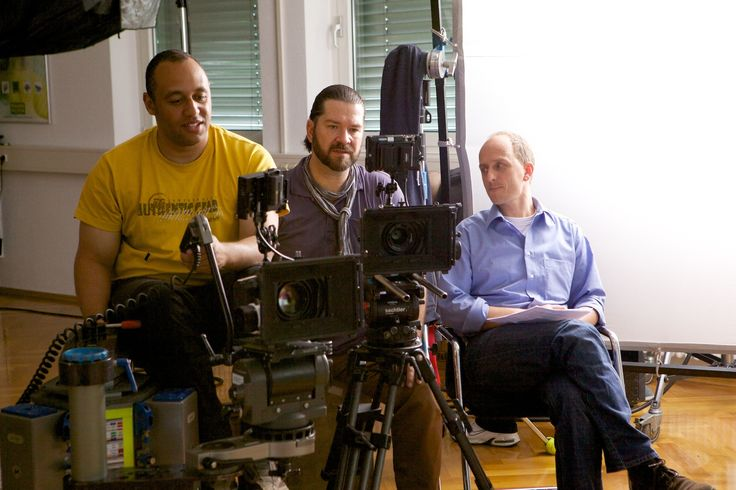 """mo.FILM ... motivmedia-Filmset bei den Dreharbeiten zum Film """"Zeitzeugen"""" von MANN+HUMMEL. Ein paar Ausschnitte des Films gibts auf www.motivmedia.de/film"""