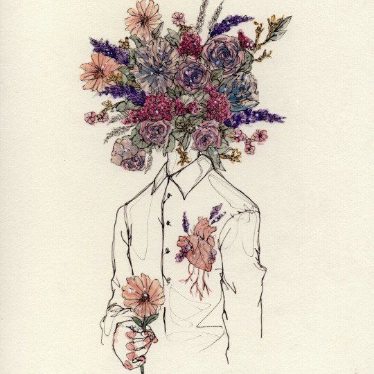[open w/ tyler] He added more little flowers as he stopped to think. An artist/writer's block was /just/ the thing he needed right now. He sat at the desk of his room, the concept art of his comics and little notes pinned to the wall. He heard a shuffle of feet at the door and turned his head to see [y/c]