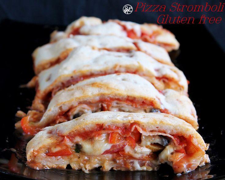 Pizza Stromboli sans gluten