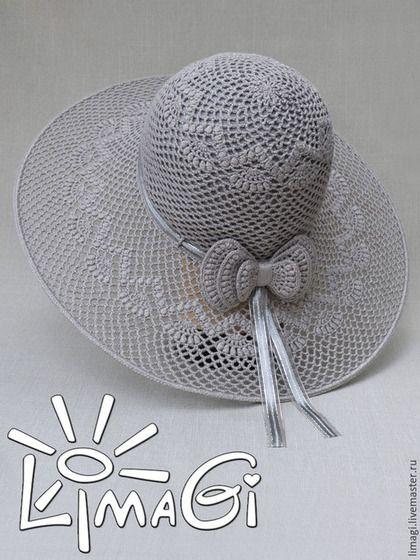 """Вязание ручной работы. Ярмарка Мастеров - ручная работа. Купить Шляпа """"Молчание"""" - описание. Handmade. Шляпа с полями, шляпа крючком"""