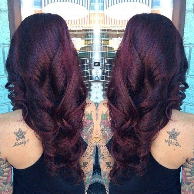 25 Best Ideas About Dark Maroon Hair On Pinterest Red