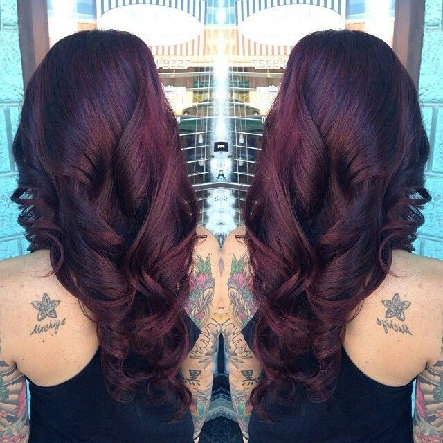 This is the colour i want! Plum, maroon, violet red, burgundy ...whatever its called!