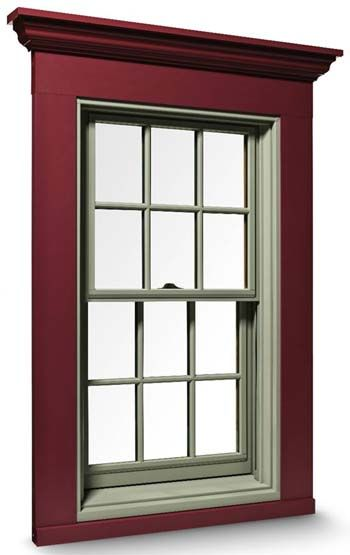 Energy efficient double-hung windows have two sash in one frame that slide  up or down to provide ventilation. Tilt-wash sash tip for easy cleaning.