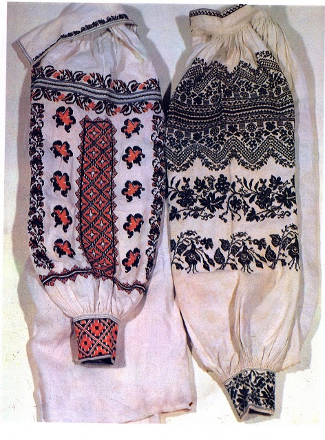 FolkCostume: Embroidery of Sokal' region, Halychyna, Ukraine