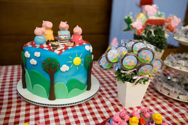 Peppa Pig Birthday Party Ideas | Photo 1 of 13 | Catch My Party