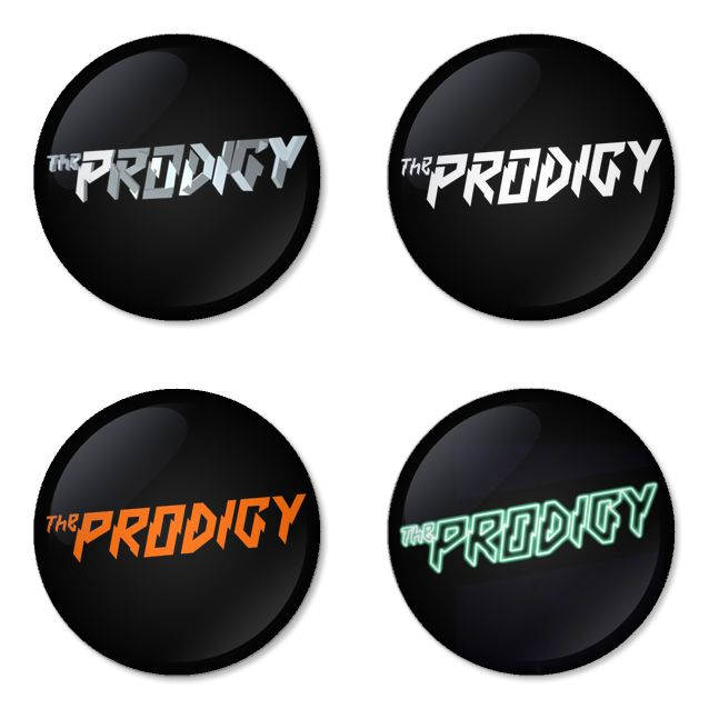 THE PRODIGY Rock Band logo Button Badge 1.75 inch Set. 4 pcs in package. You can choose back side of badge. we have Pinback ($7.49), Fridge Magnet ($8.49), Pocket Mirror ($8.49), Bottle opener Keychain ($9.99). The best Ideas Gift for Birthday, Party, Fashion, Concert. The band Head line up fastivals at Rock am Ring, Rock im Park, Rock En Seine, Future music fastival and Sziget fastival on 2015. Member is Liam Howlett, Keith Flint, Maxim Reality. Albums that famous them is Invaders Must Die.