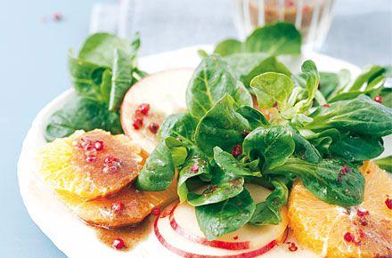 Feldsalat mit Orangen - Schrot und Korn - Das Kundenmagazin für den Naturkosthandel