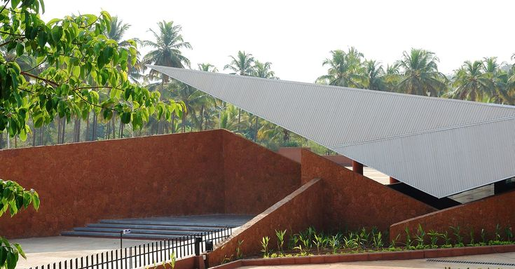 Gallery of Valpoi Busstand and Community Hall / Rahul Deshpande and Associates - 7