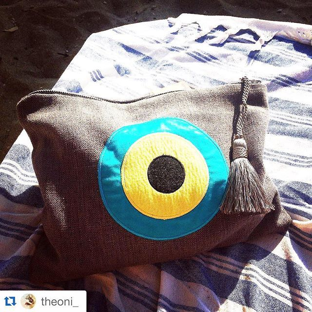 Thank you @theoni_ Please tag your pictures #evileyeproject and #christinamalle_bags  for regram!  Have a nice day!  #ss2015#collection#fashion#clutches#hanbag#bag#summer#handmade#christinamalle_bags#Greece#madeingreece#greekdesigners#accessories#summeringreece##thessaloniki#instalike#vscocam#instafashion