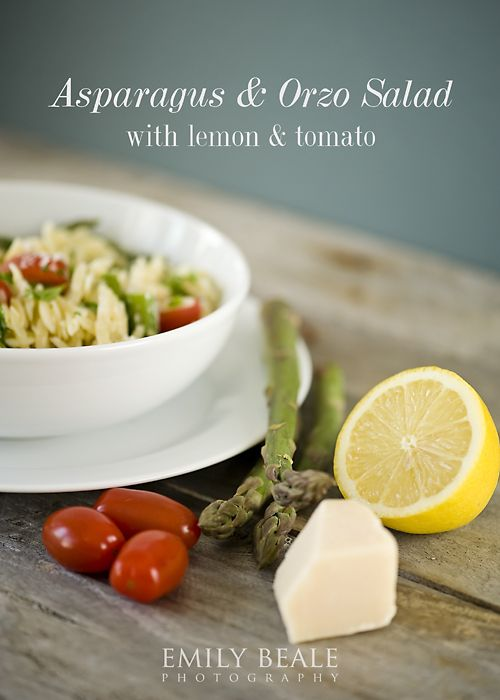 Lemon Orzo Salad With Asparagus, Spinach, And Feta Recipe — Dishmaps