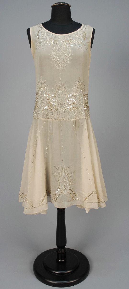 ~BEADED DANCE DRESS, 1920s~